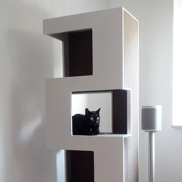 europ isch kurzhaar kratzbaum empire bildergalerie stylecats design kratzbaum. Black Bedroom Furniture Sets. Home Design Ideas