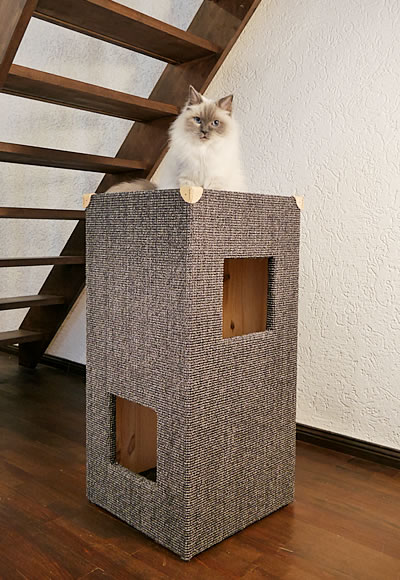 kratzbaum kratzturm convenient i kratzb ume stylecats design kratzbaum. Black Bedroom Furniture Sets. Home Design Ideas