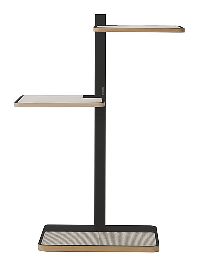 Cat Tree HOME 1, Anthracite, Sisal anthracite grey - Ansehen im Cat Tree-Online-Shop