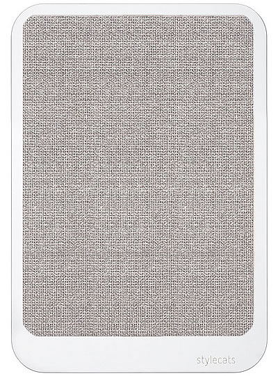 Scratching Board SCRATCHY, White, Sisal light-grey - Ansehen im Cat Tree-Online-Shop