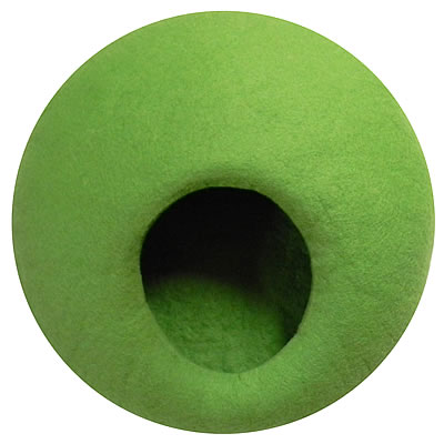 felted Cuddly Cave Homy, May green - Ansehen im Cat Tree-Online-Shop